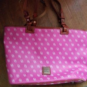 Dooney and Bourke  signature leather handbag